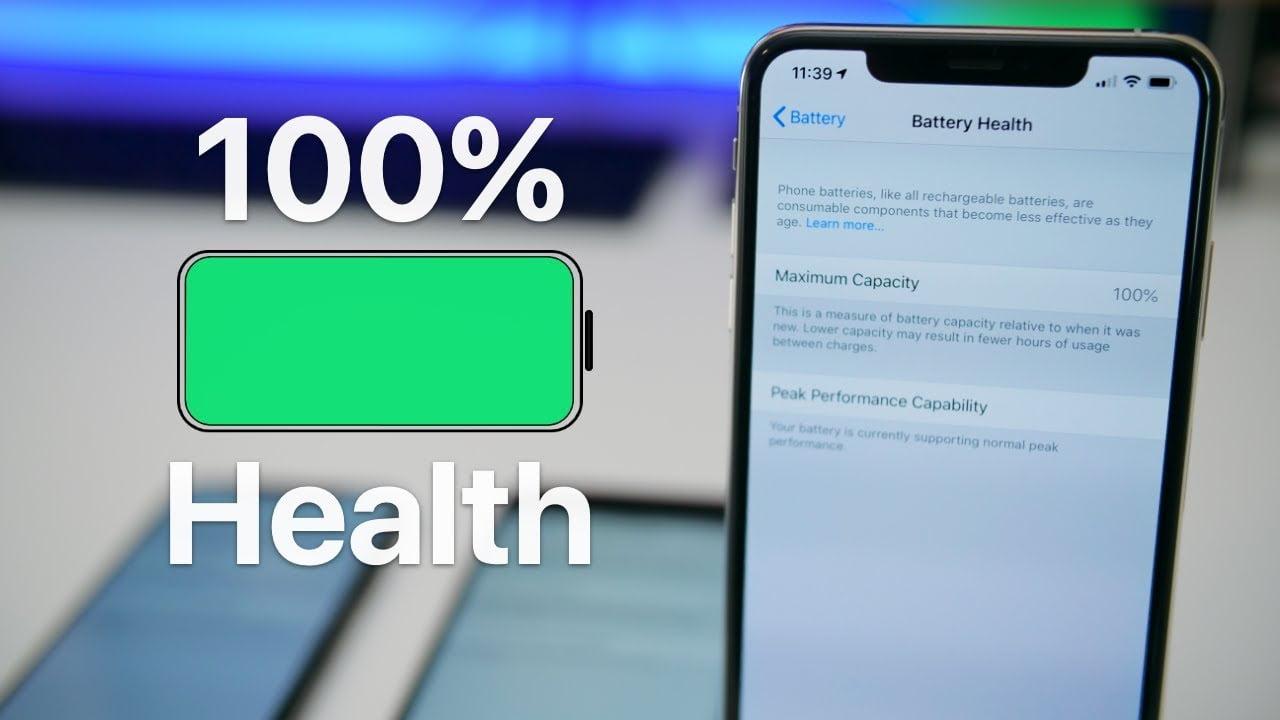 kiểm tra nhanh số lần sạc trên iPhone
