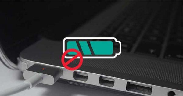 sửa lỗi sạc pin iPhone lên laptop không nhận điện