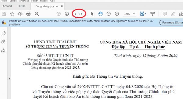 Xóa trang trắng trong PDF bằng Foxit Reader