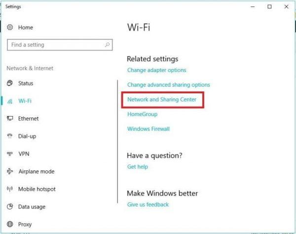 Xem password wifi truyền thống trên Windows 10