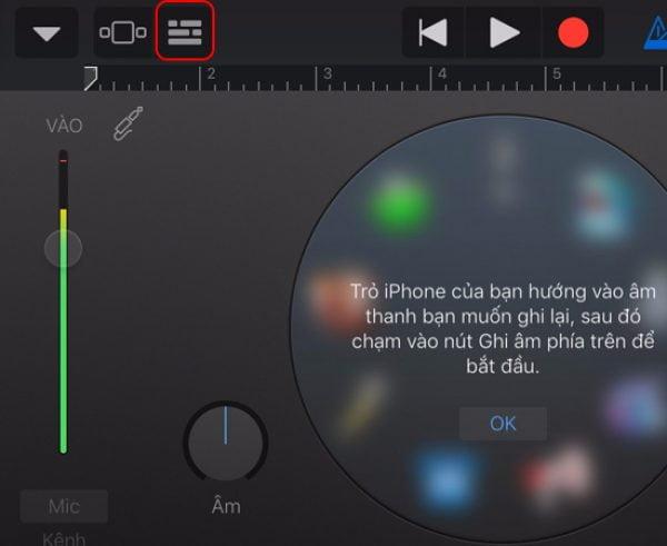 Sử dụng Phần mềm GarageBand để cài nhạc chuông cho ios