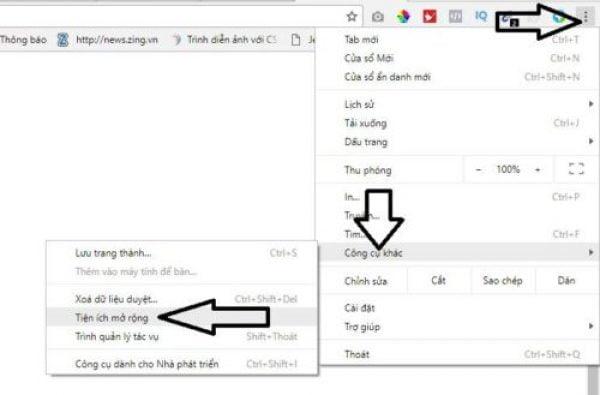 Trình tự các bước thêm IDM vào ứng dụng Chrome