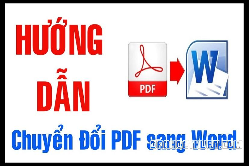 Những mẹo đổi đuôi Word sang PDF siêu đơn giản cho người mới
