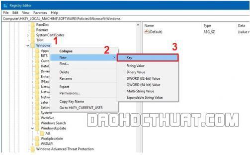 Vô hiệu hóa Update Windows
