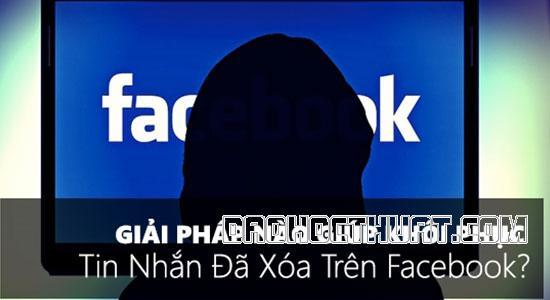 Hướng dẫn cách khôi phục tin nhắn trên Messenger bằng Facebook