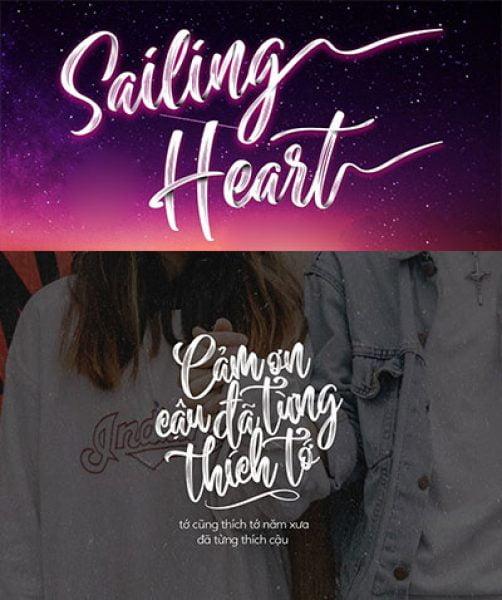 MTD Sailing Heart