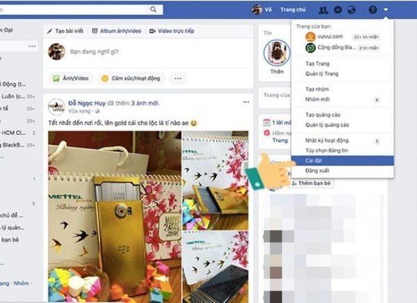Tải dữ liệu cuộc trò chuyện từ Facebook về máy để khôi phục tin nhắn trên Messenger