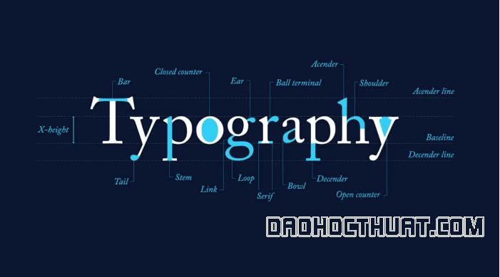 Tổng hợp top 5 font chữ Typography việt hóa đẹp nhất