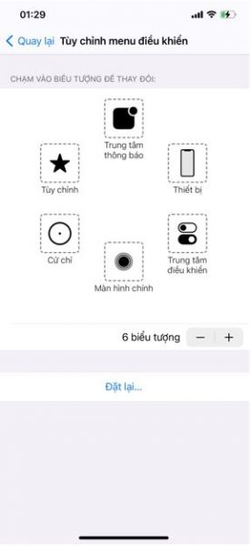 Bật nút Home ảo trên Iphone XS Max