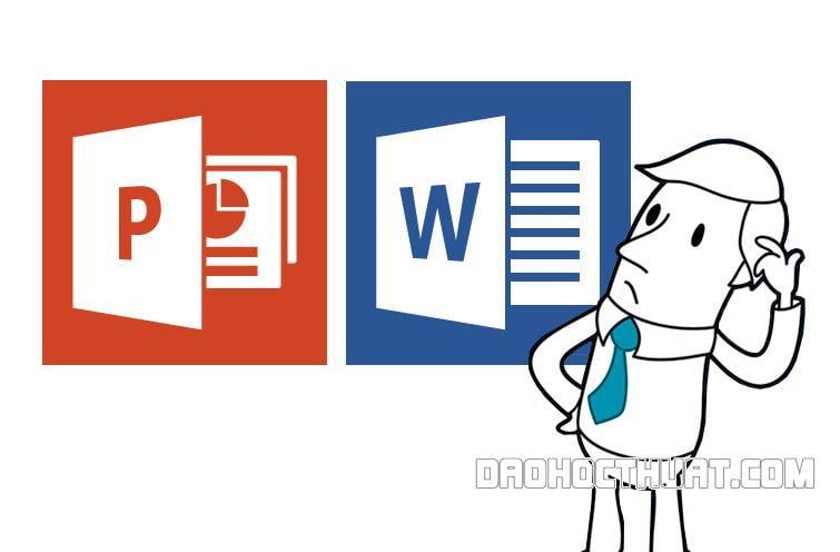 Chuyển file PPT sang Word nhanh chóng và đơn giản