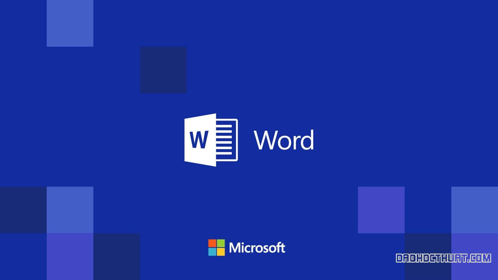 Cách hiện thanh công cụ trong Microsoft Word 2010, 2013, 2016, 2019