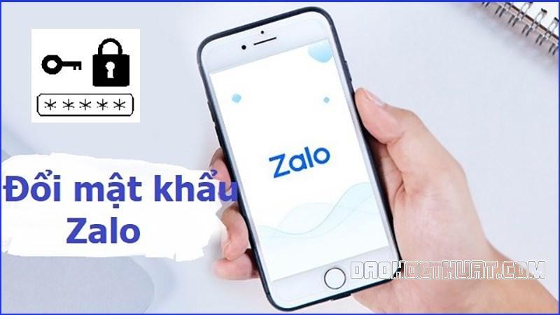 cách đổi mật khẩu Zalo đơn giản