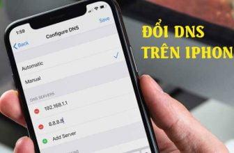 Hướng dẫn đổi DNS trên iPhone đơn giản