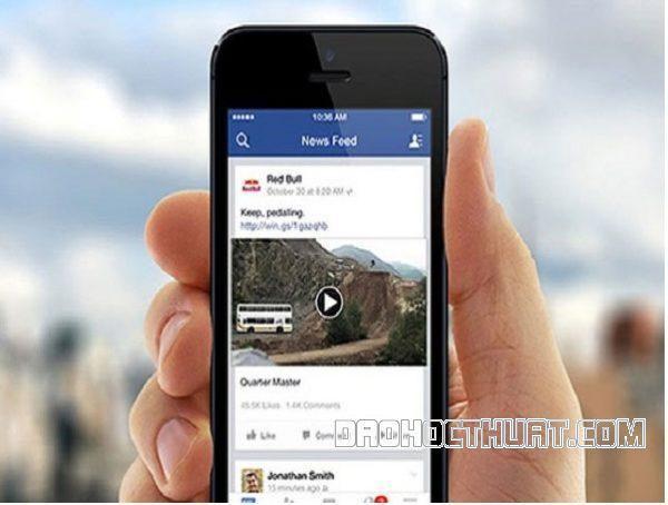 Nguyên nhân không xem được video trên Facebook Iphone