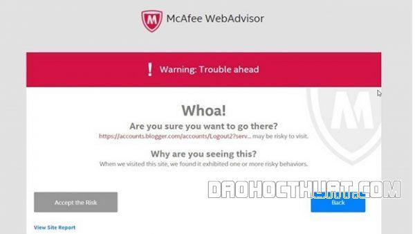 McAfee Webadvisor là gì? Tính năng ra sao