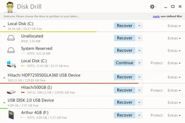 Phần mềm Disk Drill