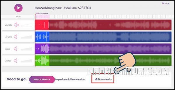 Tìm hiểu cách tách beat nhạc online qua công cụ PhonicMind