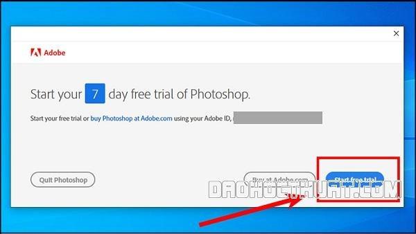 Download Photoshop trên máy