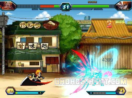 Tựa game Bleach vs Naruto 3.7
