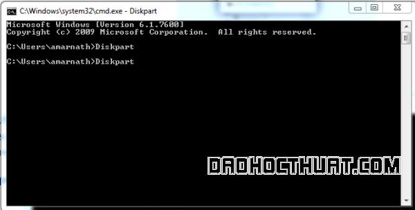 sửa lỗi write protected bằng cmd