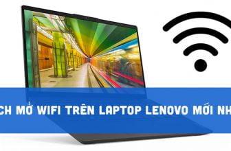 Cách mở Wifi trên Laptop Lenovo