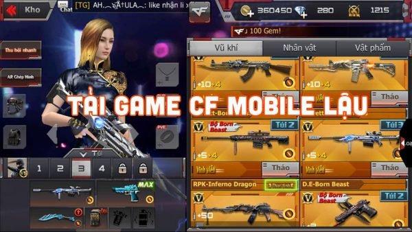Game Cf Mobile lậu