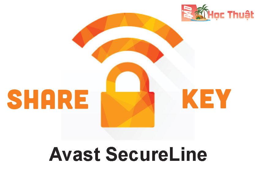 Chia sẻ xin bộ key Avast Secureline VPN mới nhất