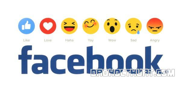 những biểu cảm trong Facebook
