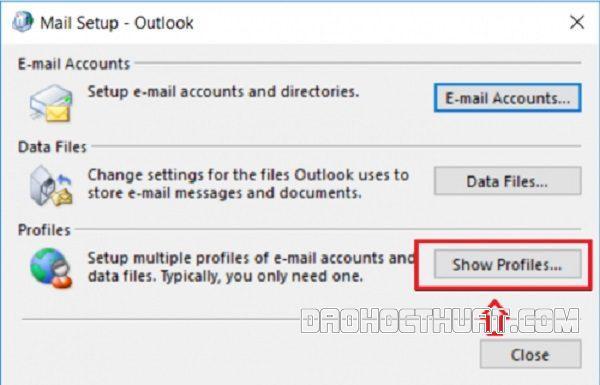 Mẹo xử lí outlook bị treo không mở được cho Windows 7, 8