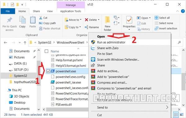 thanh tác vụ trến máy tính Windows không hoạt động nữa