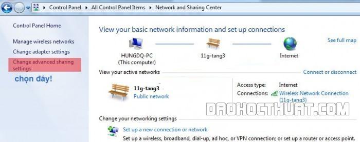Hướng dẫn cách thực hiện truyền dữ liệu giữa hai máy tính Windows 10 bằng wifi