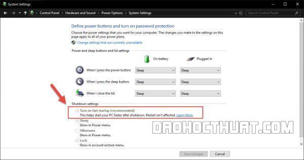 Lỗi USB Device Not Recognized