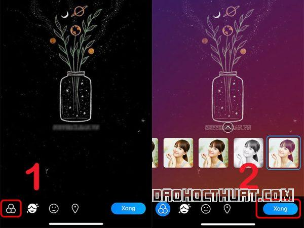 đổi hình nền zalo trên điện thoại