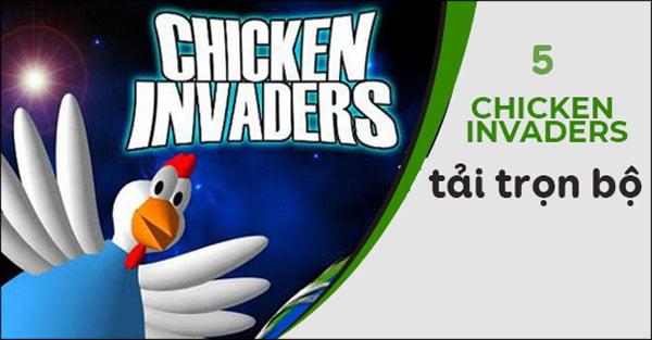 game bắn gà chicken invaders 5 full crack
