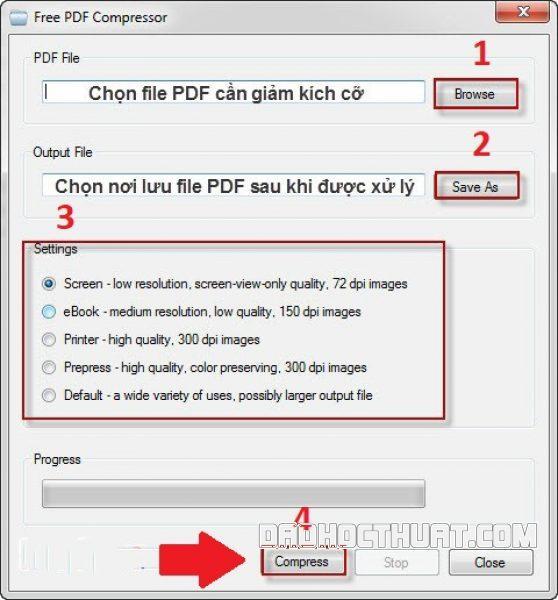 cách giảm dung lượng file pdf cực nhanh