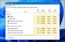 3 Cách mở Task Manager trên Windows 11 đơn giản nhất