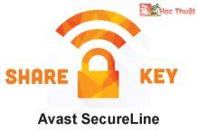 Share bộ key Avast Secureline VPN bản quyền 2018, 2019, 2020, 2021