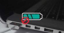 Sửa lỗi sạc pin iPhone trên laptop nhưng không vào điện